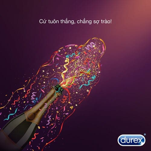 Durex copywriting